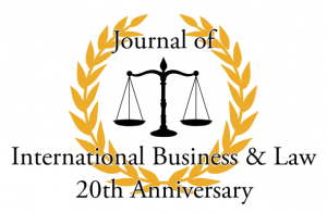 Journal of International Business & Law, 20th Anniversary
